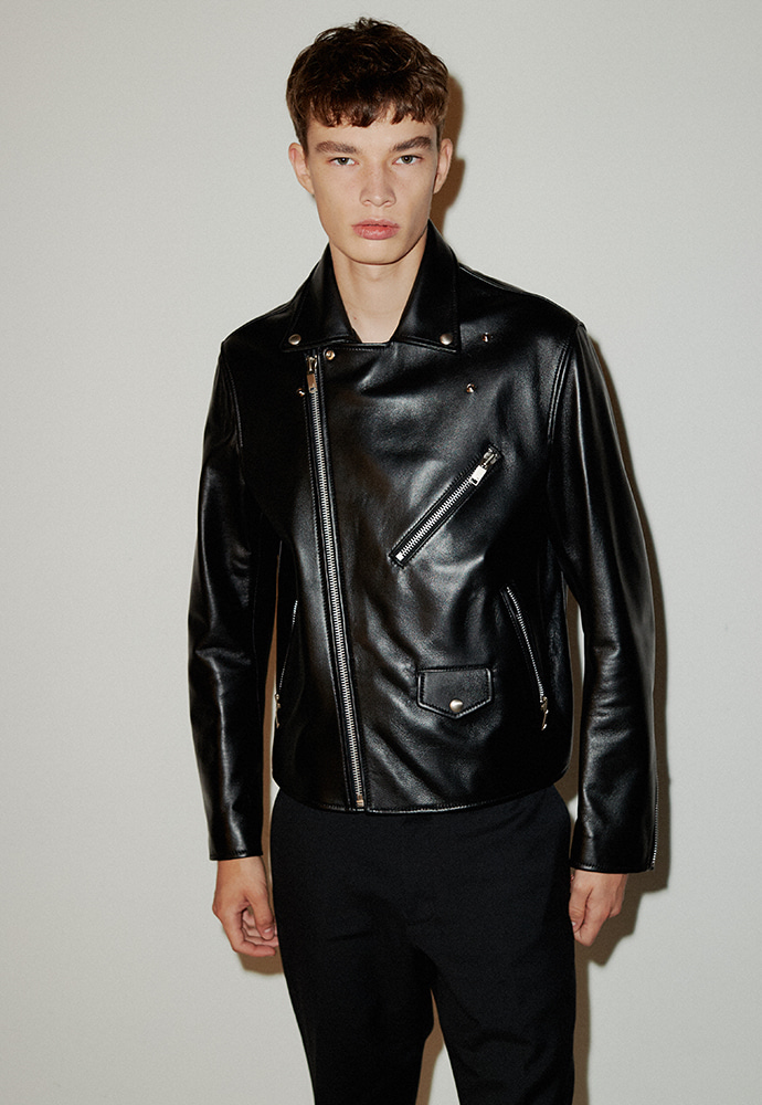 Port Leather Biker Jacket