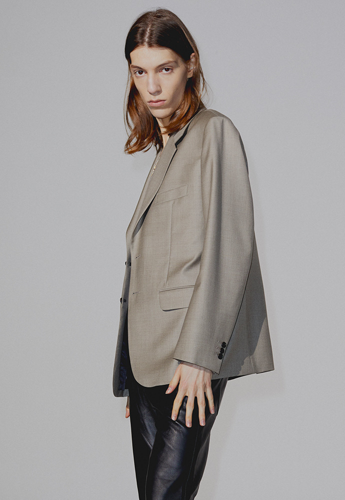 Sortie 2-button Single Blazer_ Bronze Grey