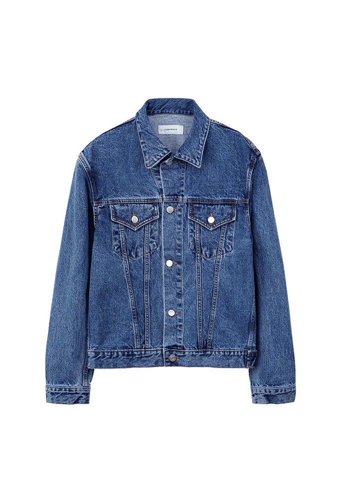 Musk Denim Jacket_ Mid Blue