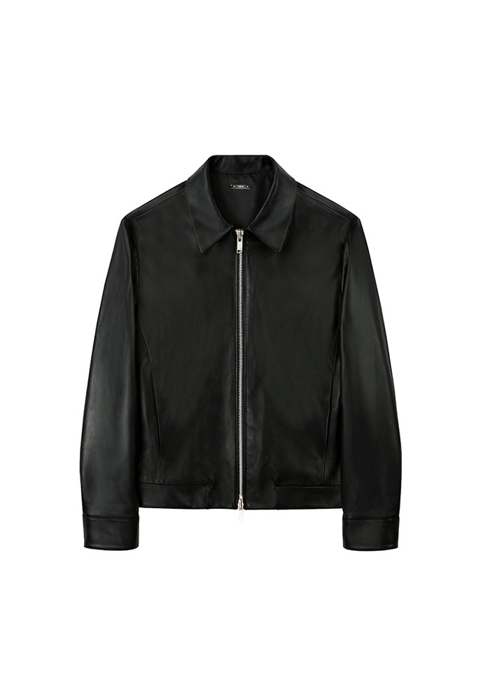 Port Minimal Leather Jacket