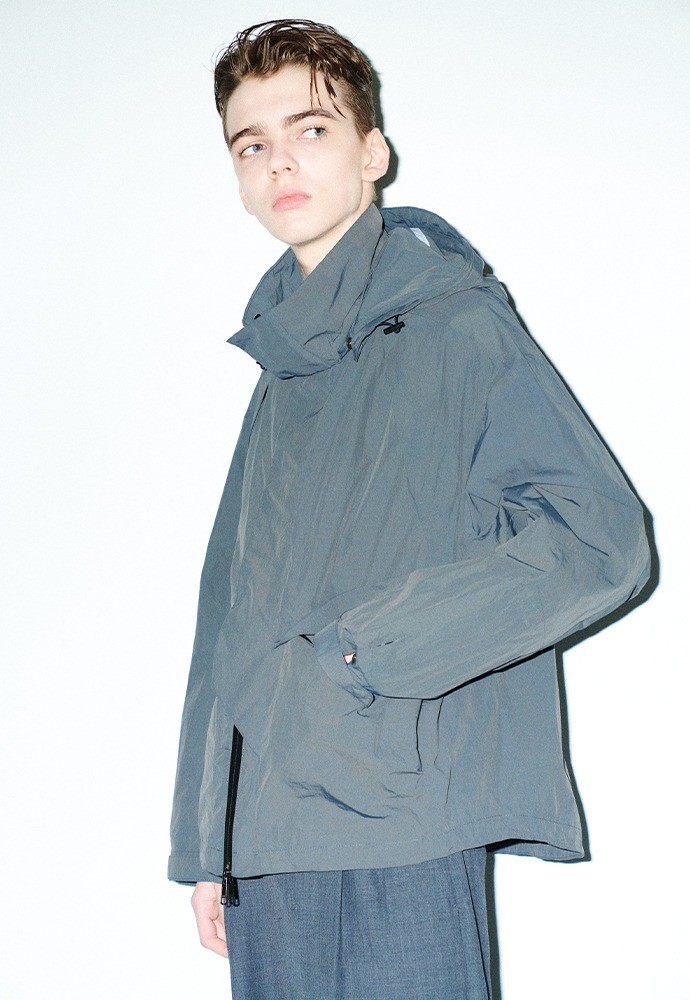 City Shell Parka_ Charcoal
