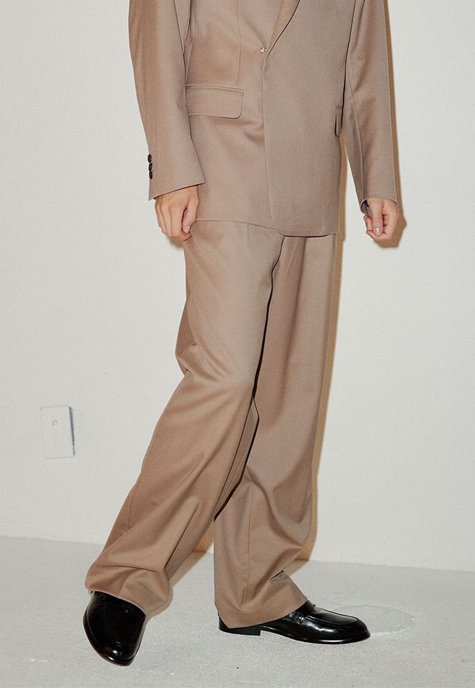 Crudo Wide Trousers_ Musk Beige