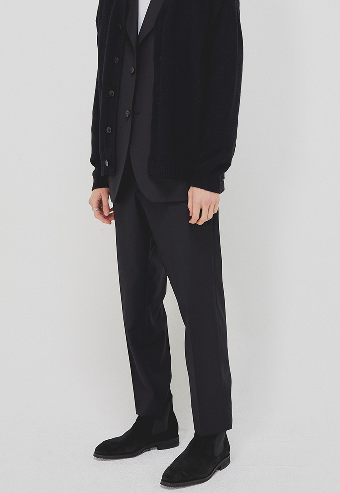 Sortie Classic Trousers_ Black (Wool 100%)