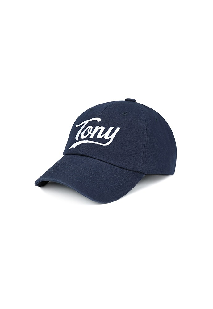 Tony-embroidered Baseball Cap_ Navy